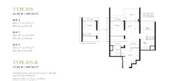 the-garden-residences-2-br-floor-plan-b2s-singapore
