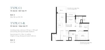the-garden-residences-3-br-floor-plan-c3-singapore