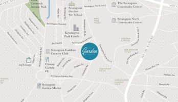 the-garden-residences-location-map